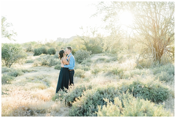 Lost Dutchman Park Couple – Bry & Nikita