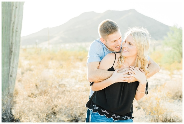South Mountain Engagement – Karlee & Brandon