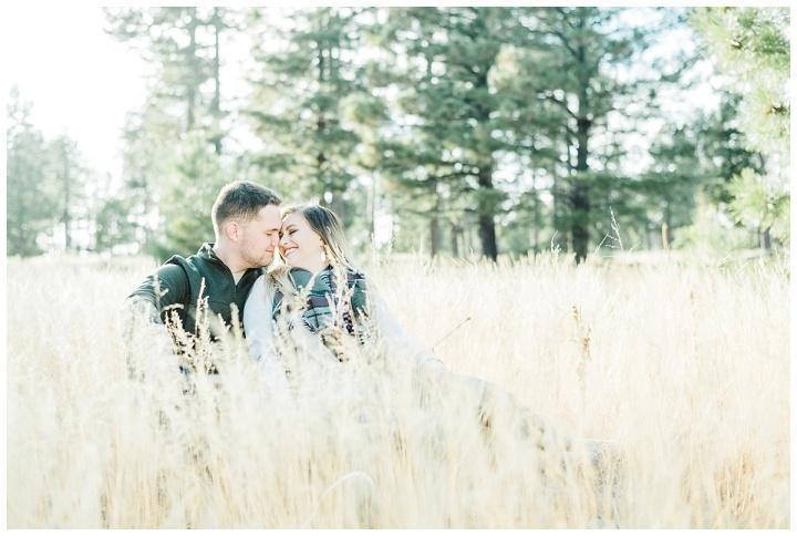 Mogollon Rim Engagement – Moriah &Kris