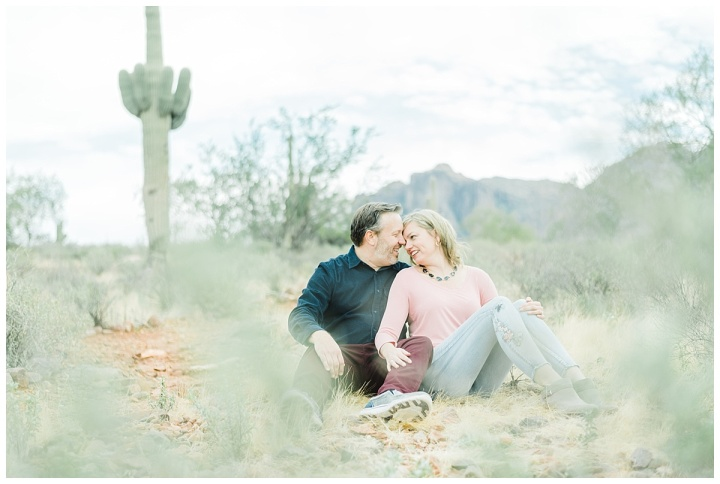 Superstition Mountain Engagement – Ruth & Nathan