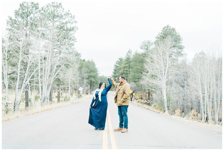 Mogollon Rim Engagement – Sarah &Dean